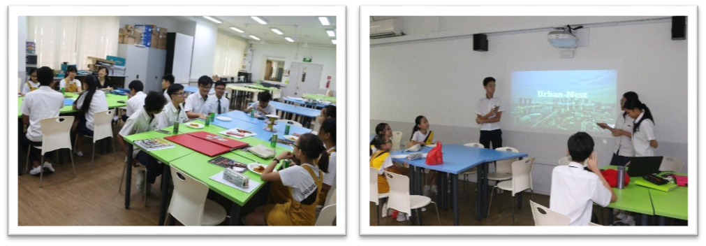 Coaching students from Partner School - Application of Design Thinking.png